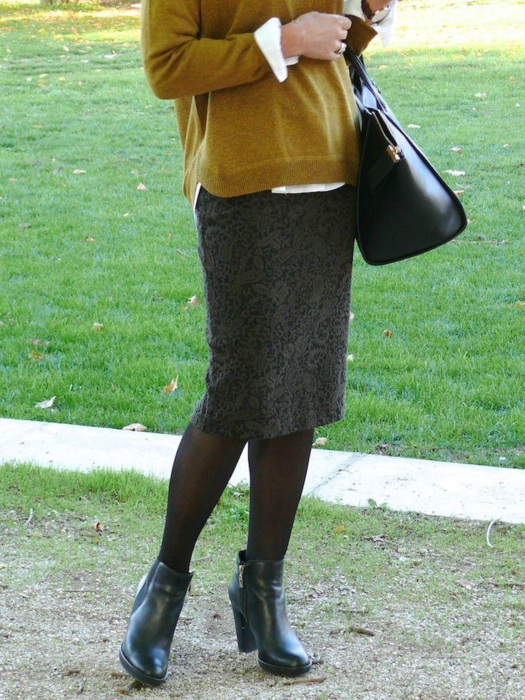 Tuto de Beemade - La jupe tube de l'automne ! http://bmade.canalblog.com/archives/2015/10/19/32779390.html