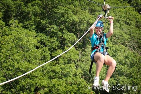 Ziplining in Branson2013, Branson, Vacations, Zipline