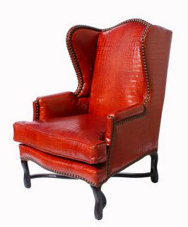 25 best ideas about Red leather chair on Pinterest