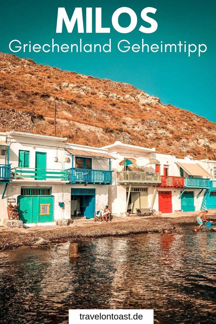 Milos Griechenland: Geheimtipp unter den Kykladen Inseln