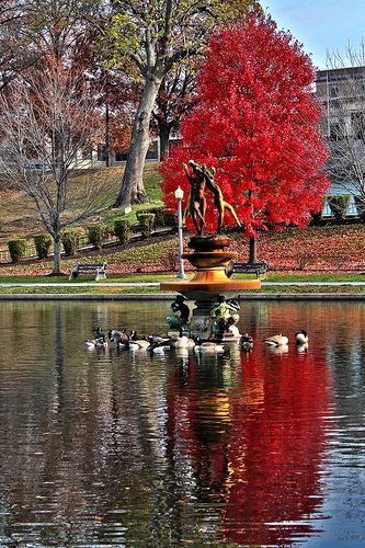Pennsylvania - Italian Lake in the state capital of Harrisburg. PA became the 2nd state on December 12, 1787.
