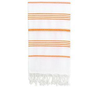 Linum Home Textiles Lucky Pestemal Beach Towel Qvc Com In 2020
