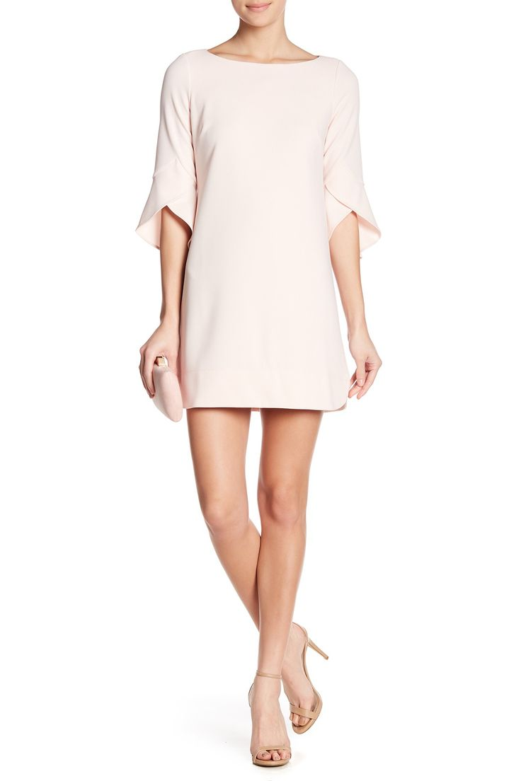 Crepe Knit Solid Dress by Vince Camuto on @nordstrom_rack
