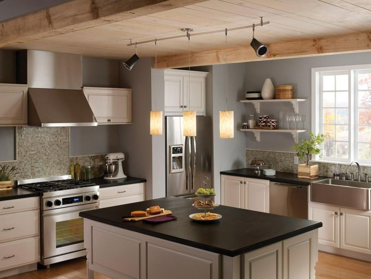 Best LIGHTING Images On Pinterest Lights Highlights And Night - Kitchen rail lighting