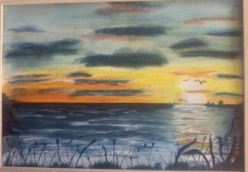 Cours D Aquarelle Coucher De Soleil Aquarelle Comment Peindre