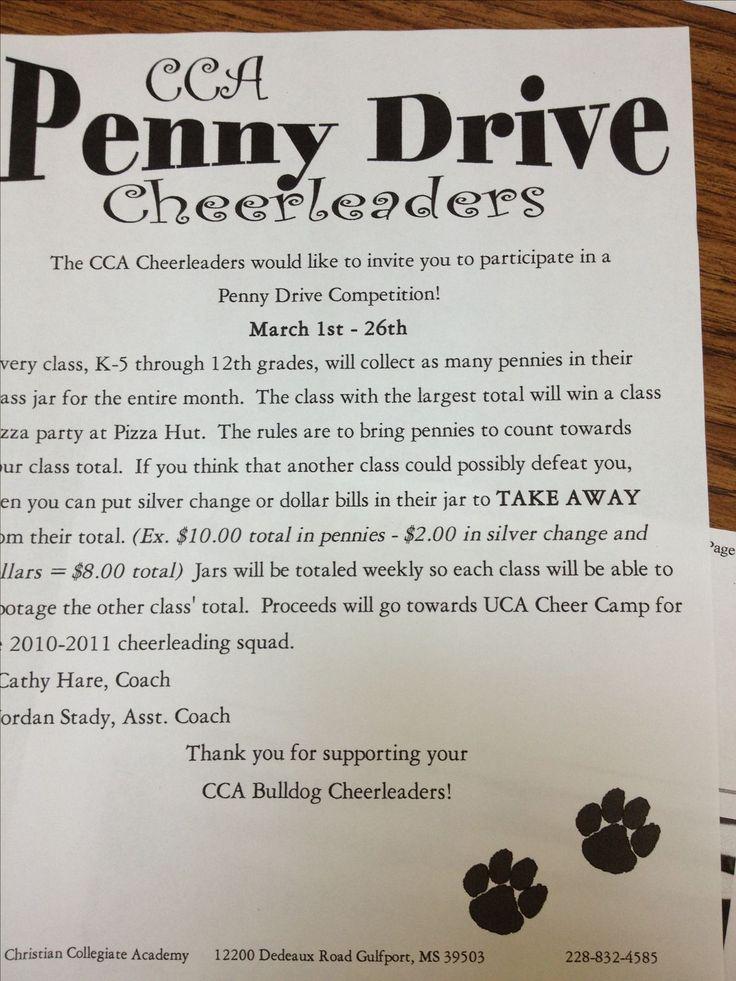 Fundraising idea for School Penny 49 best