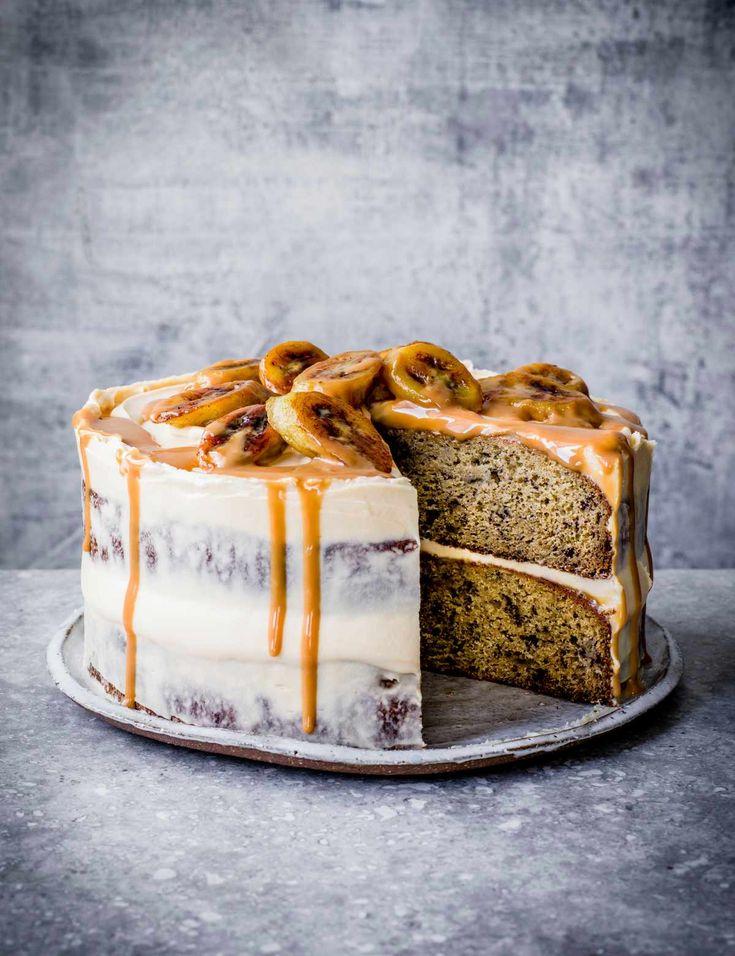 Banoffee-Kuchen-Rezept Wir haben einen beliebten Bananenkuchen genommen und ihm einen Banoff gegeben …   – mhhhh!