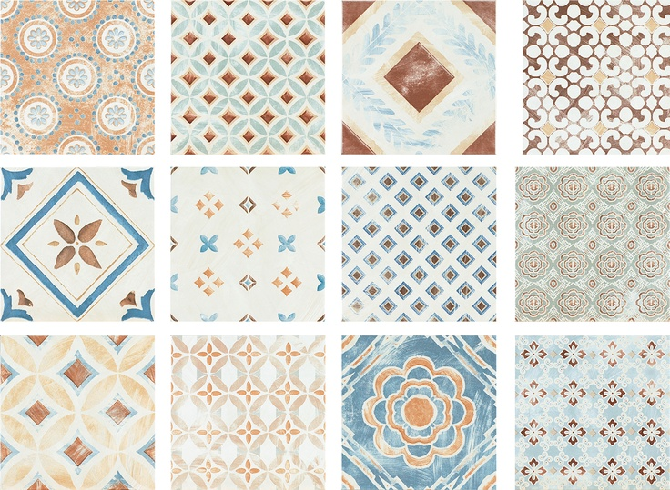 """Amarcord"" by Faetano. Classic Italian decorative art. #porcelain #tile #pattern #design #decorative"