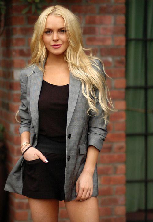 Long Blazer On Short Dress
