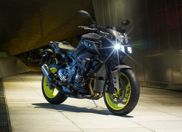 Yamaha dévoile la MT-10, le roadster mi MT, mi R1. - Actualité moto
