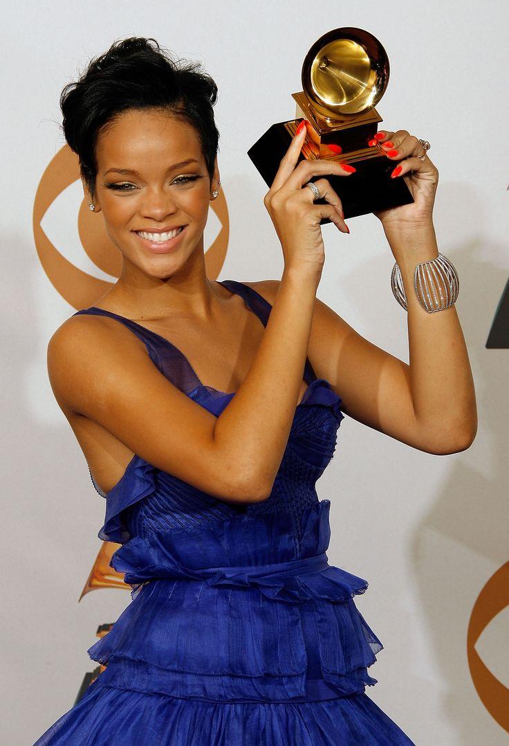 First Grammy for Rihanna, 2008
