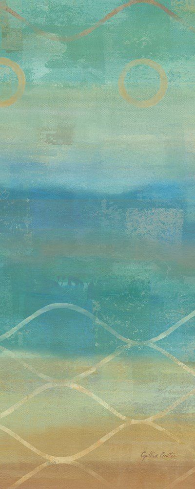 Abstract Waves Blue II (Cynthia Coulter)
