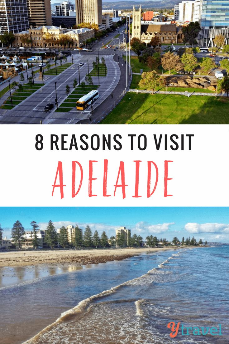 Adelaide, South Australia is the perfect destination for your next Australian getaway. Wineries, great food, beautiful beaches and relaxed city living
