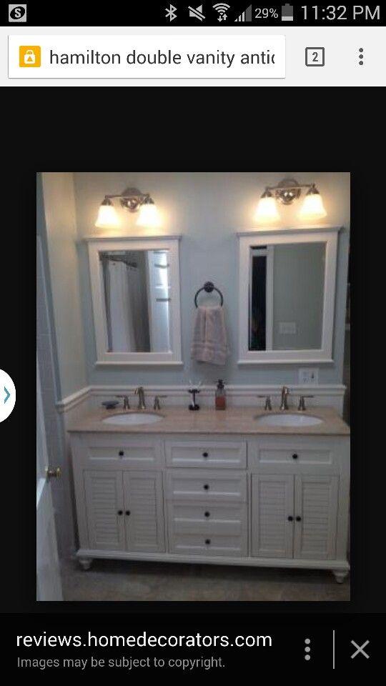 Bathroom Remodel Ideas Double Vanity 140 best bathroom images on pinterest | bathroom ideas, bathroom