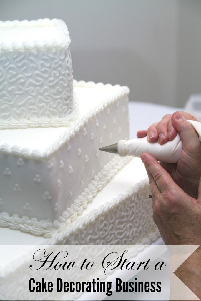 How to Start a Cake Decorating Business - A Spark of Creativity