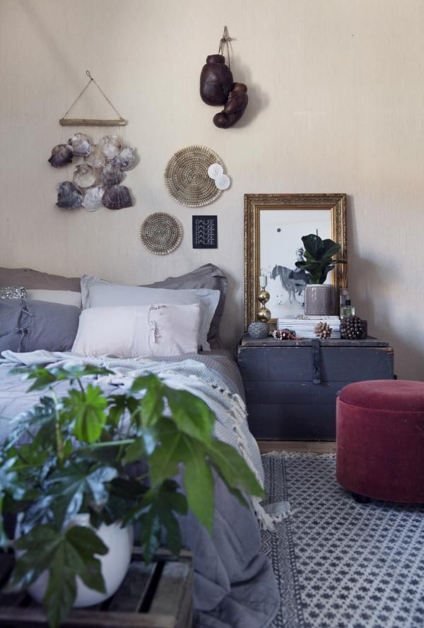 El apartamento ecléctico de una bloguera noruega