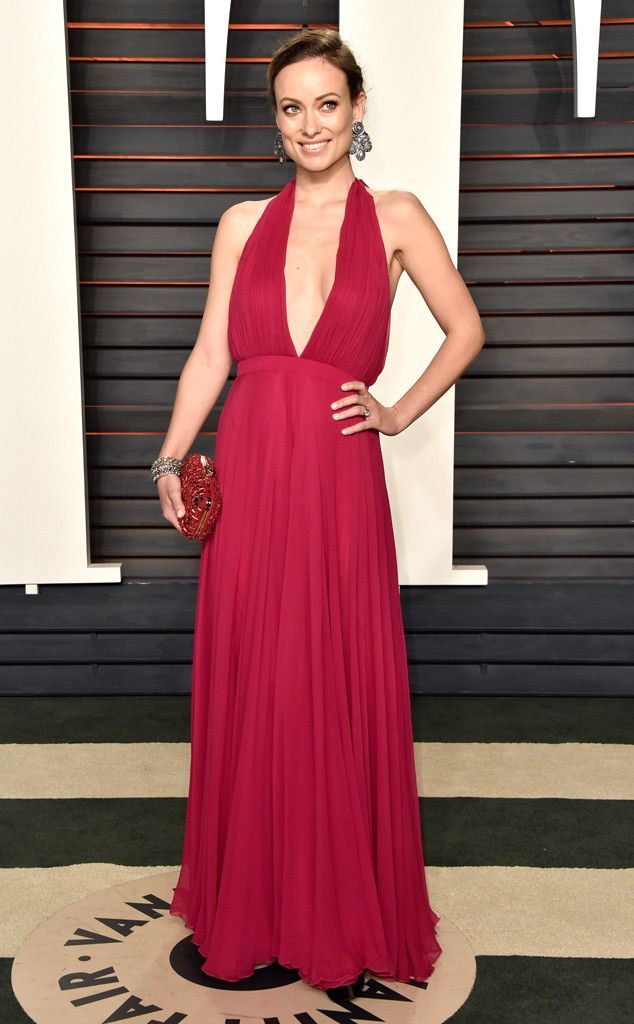 Olivia Wilde from Vanity Fair Oscars Party 2016: What the Stars Wore | E! Online