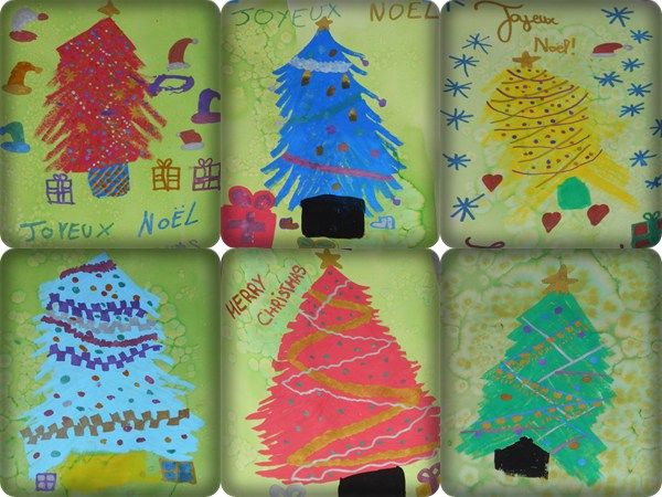Dessins de Noël rapides avec les marqueurs peinture POSCA – la maîtresse a des yeux dans le dos