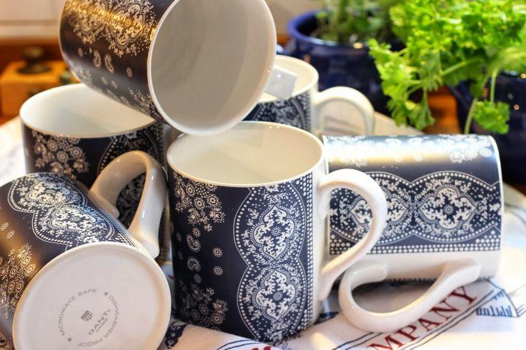 GANT Paisley mugs