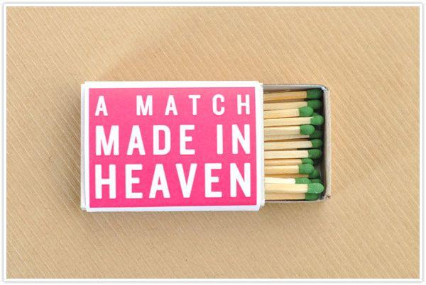 Valentine's Matchbox Wraps