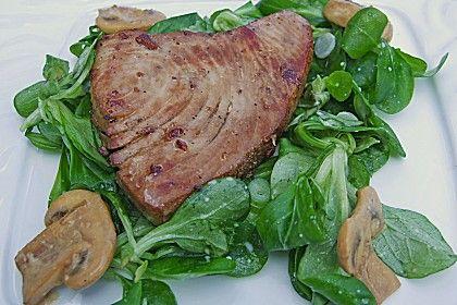 Mariniertes Thunfischsteak, ein tolles Rezept aus der Kategorie Fisch. Bewertungen: 107. Durchschnitt: Ø 4,5.