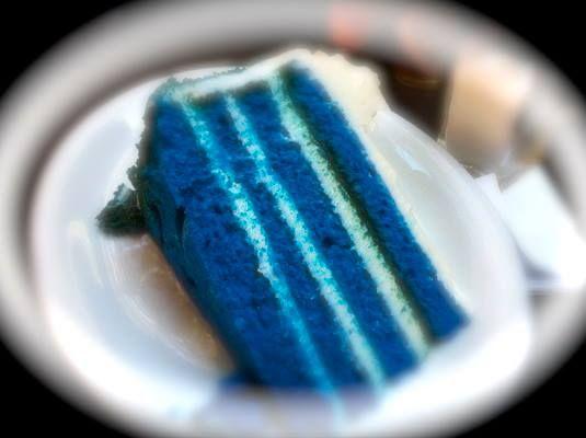 Blue Velvet Cake Alcove