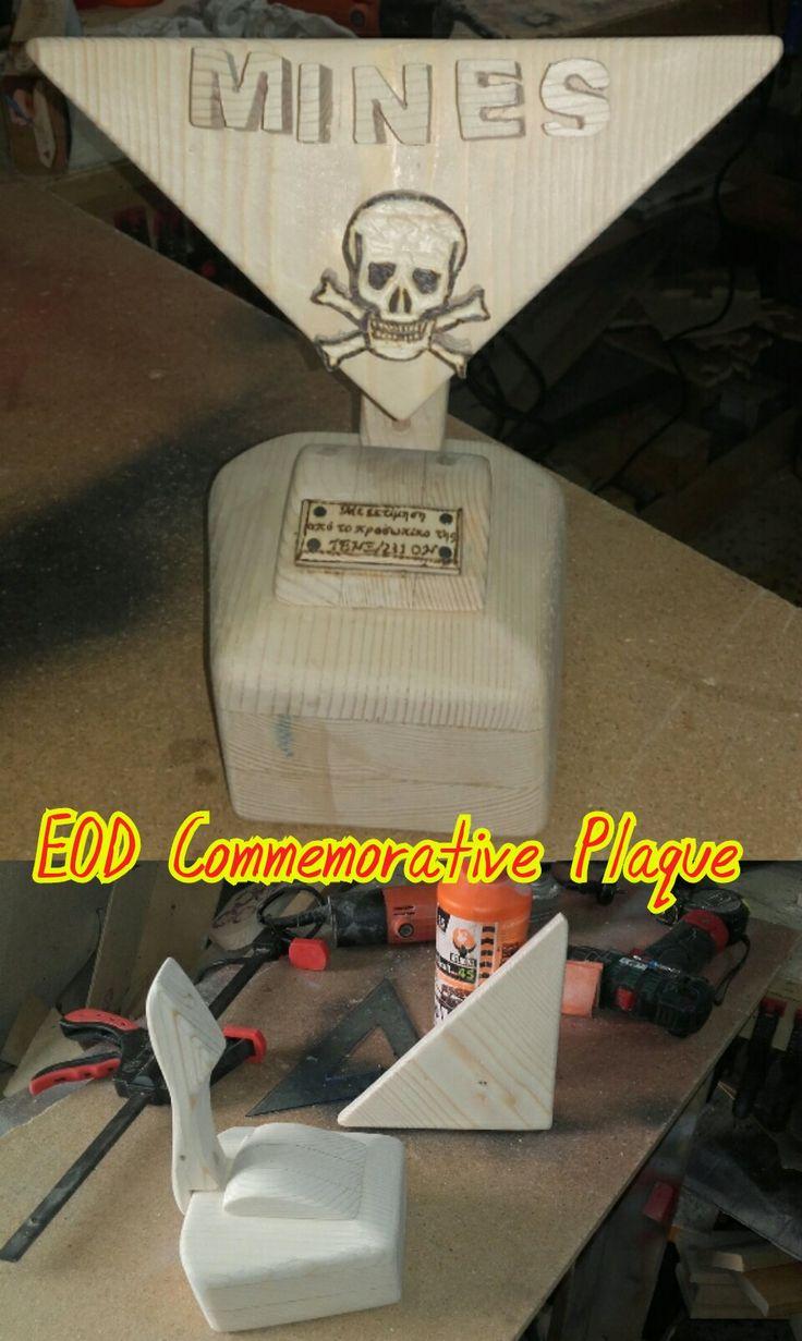 EOD Commemorative Plaque