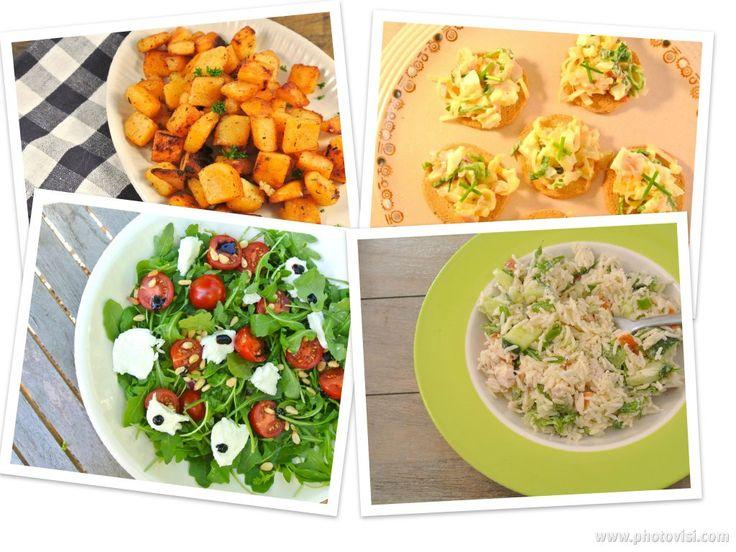 Dat je een stukje vlees of vis op de barbecue kan leggen dat weet iedereen. Maar wat kun je er nou lekker bij serveren? We hebben een aantal lekkere barbecue (bij)gerechten voor jullie op een rijtje gezet. Lekkere salade: Rijstalade met komkommer, gerookte kip en creme fraiche Kruidige aardappeltjes met zelfgemaakte cajun-kruiden Italiaanse salade met...Lees Meer »