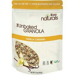 Try our delicious vanilla caramel granola!  http://librenaturals.com/granola-cereal-USA/