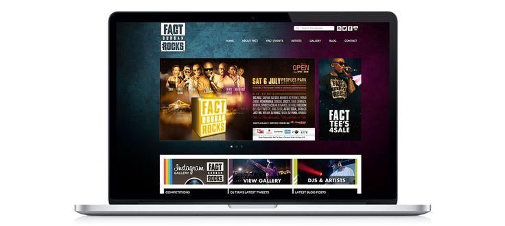 Fact Durban Rocks: Responsive Website Design, Development and Management by Electrik Design Agency www.electrik.co.za