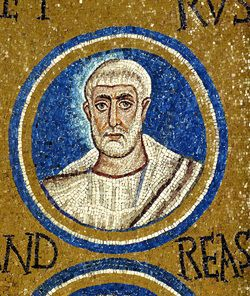 Cappella del Palazzo Arcivescovile, Ravenna. Mosaici della fine del V - inizio del VI secolo. Periodo teodoriciano, SAN PIETRO
