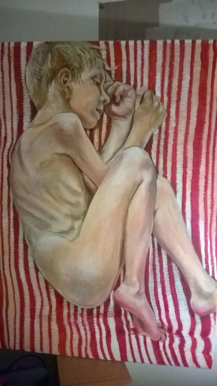 Finn 2015 (Oil on canvas) Painting