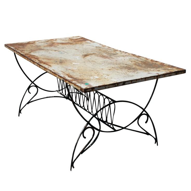 deco garden furniture. 55 ft vintage art deco metal outdoor patio dining table garden furniture e