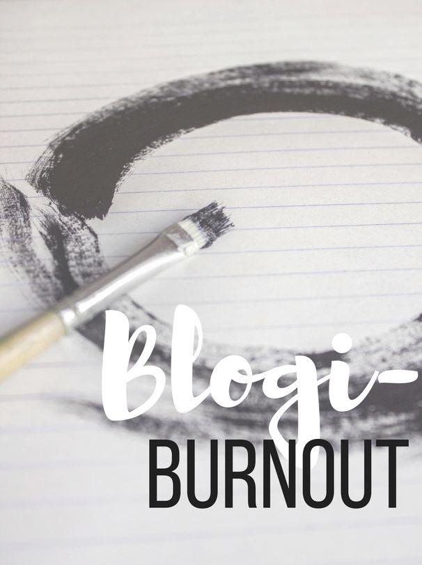 Kivempi blogi: Blogiburnout - Kun inspiraatio bloggaamiseen katoaa