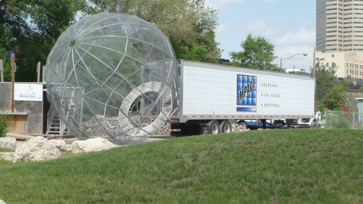 Some kind of entertainment may be coming to The Forks area in Winnipeg Manitoba -think you know what this is used for?