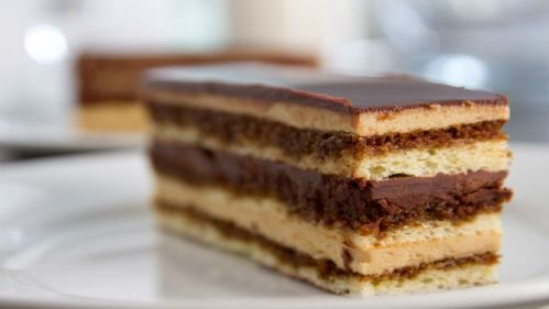 Les desserts de Patrice - Gâteau opéra