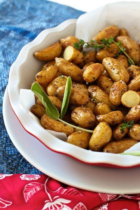 Pommes de terre rôties au four | Nourriture | Pinterest