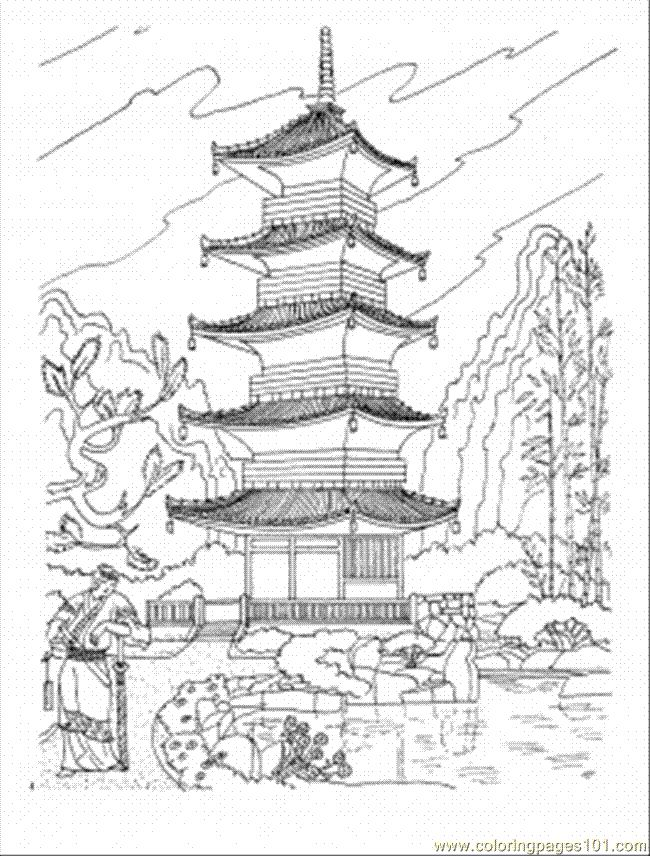 It is a graphic of Universal Temple Drawing Ideas