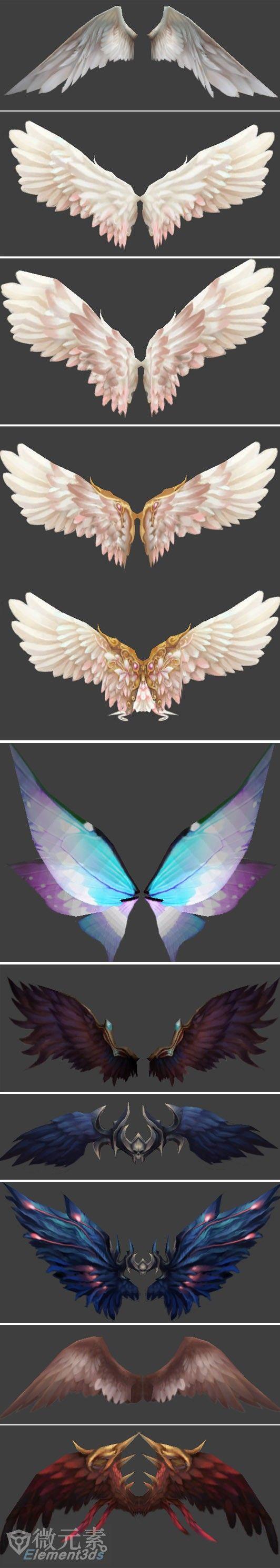 【微元素】超值:漂亮的零纪元角色篇-(翅...@原画梦采集到作画教程(364图)_花瓣插画