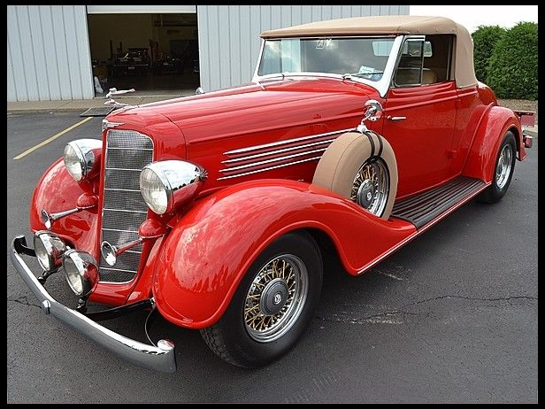 1934 Buick Convertible 454 CI, Steel Body for sale by Mecum Auction