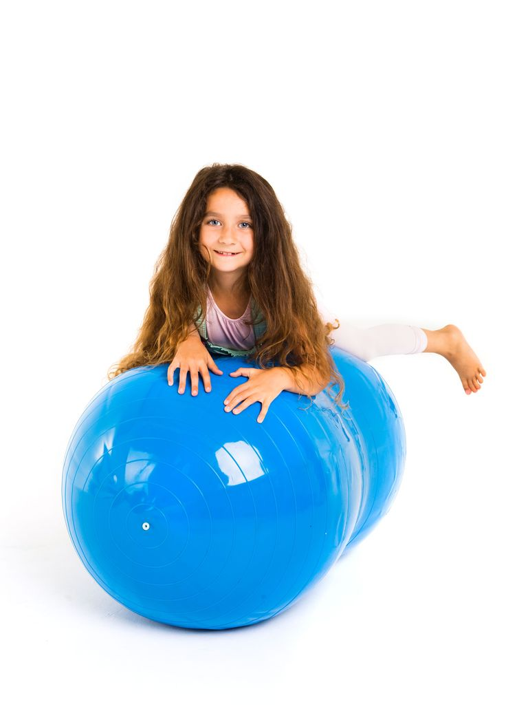 Our Peanut Balls offer stability and fun building confidence – perfect for work on balance, co-ordination and strength for children of all ages – see page 38 http://www.fledglings.org.uk/docs/pdf/brochure_online.pdf