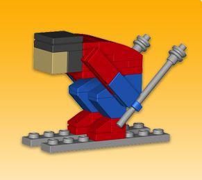LEGO Monthly Mini Model Build: February 2011 – Smashing Bricks