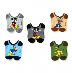 Mickey Mouse and Friends Socks 5 Pack