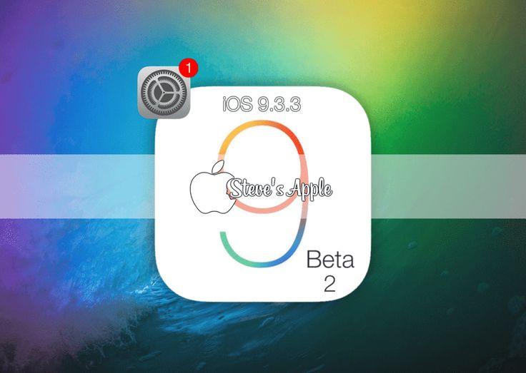 iOS 9.3.3 Beta 2 Follow@Stevenin_Elmasi iPhone iPhone 4[S] – Model A1387, A1431 iPhone 5 (GSM) – Model A1428 iPhone 5 (Global) – Model A1429, A1442 iPhone 5c (GSM) – Model A1456, A1532 iPhone 5c (…