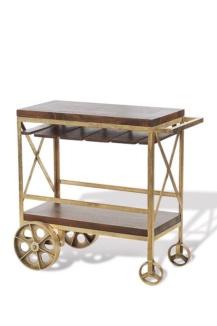 Midtown Modern Style- Baker's Rack Bar Cart (599)