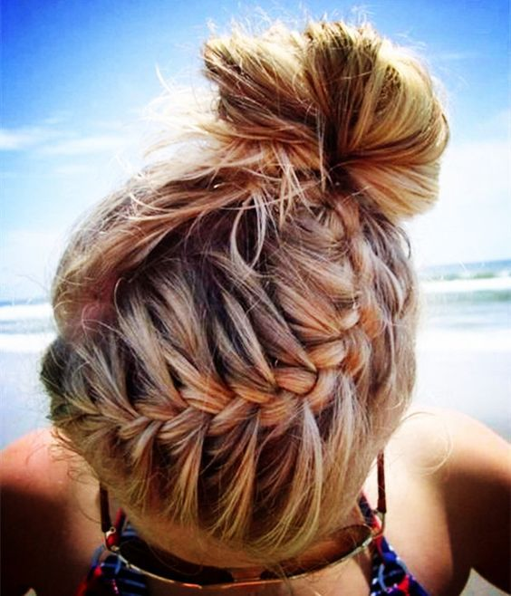 Admirable 1000 Ideas About Swimming Hairstyles On Pinterest Braided Side Short Hairstyles For Black Women Fulllsitofus