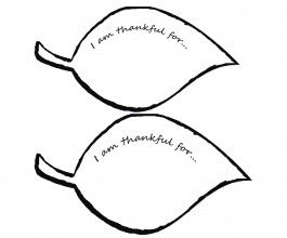 "leaf template...""i am thankful for"" use this in November"