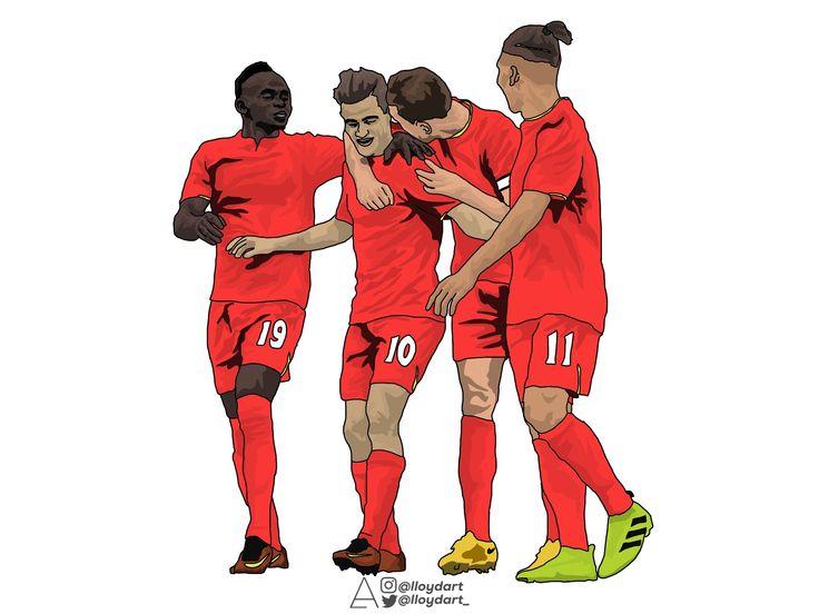 Mané, Coutinho, Henderson, Firmino