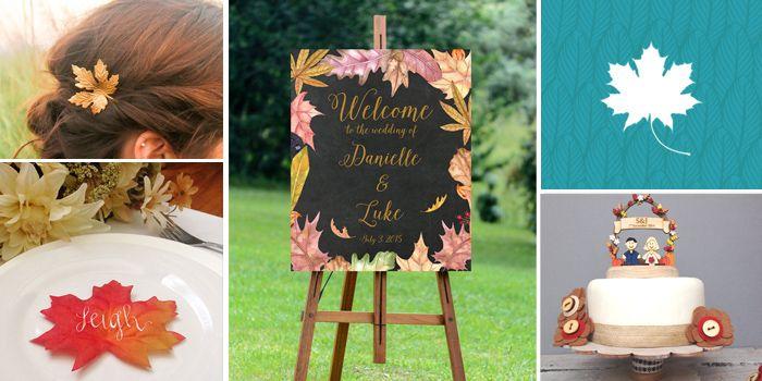 Les 16 plus belles trouvailles Etsy pour vos mariages d'automne !