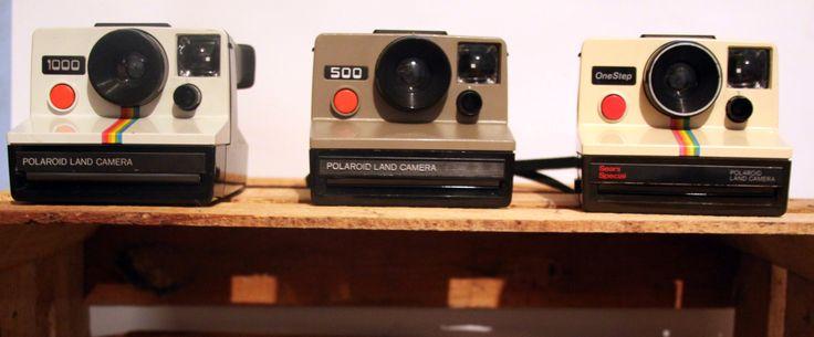 Polaroid 1000 Polaroid 500 Polaroid One Step Sears Special   I <3 Polaroid